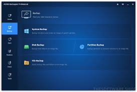 AOMEI BACKUPPER ALL EDITIONS CRACK 6.1 + LICENSE KEY FULL DOWNLOAD