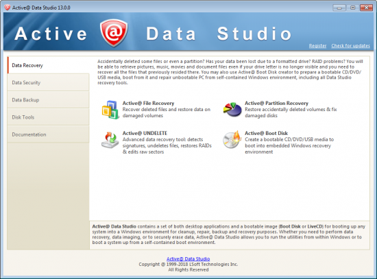 Active Data Studio 17.1.0 + Crack Serial Key Latest Version