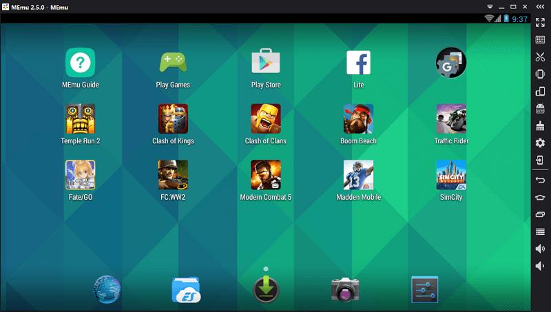 MEmu Android Emulator key